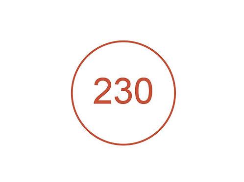 Número 230