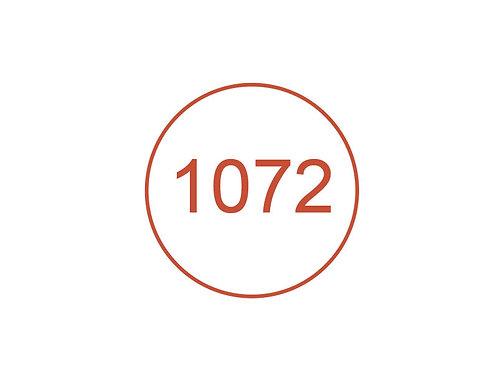 Número 1072