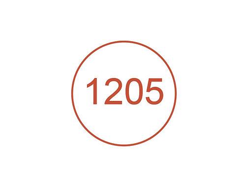 Número 1205