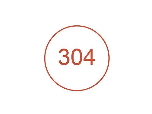Número 304