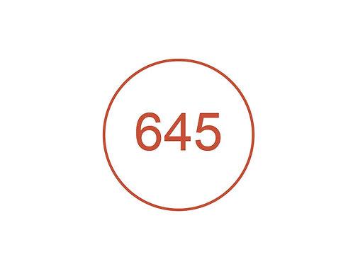 Número 645