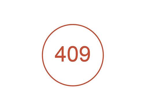 Número 409