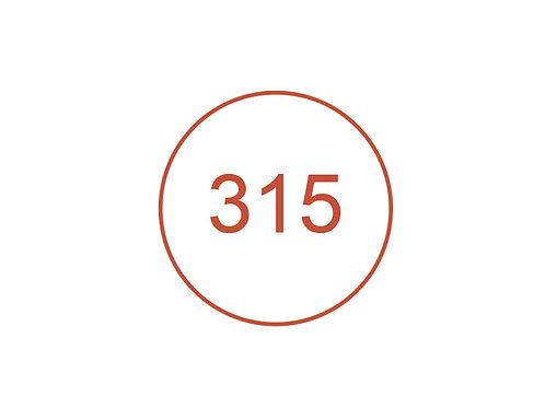 Número 315