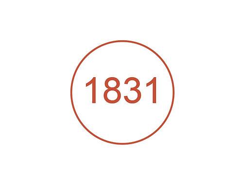 Número 1831
