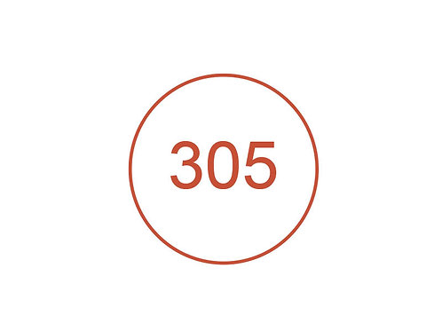 Número 305