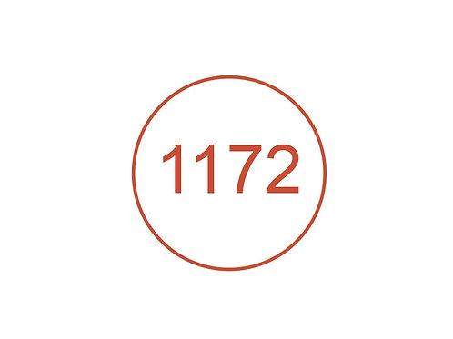 Número 1172