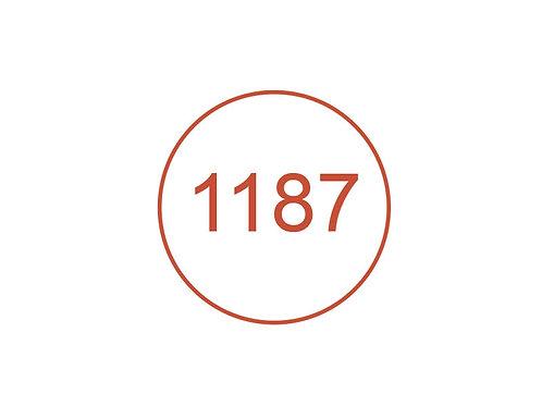Número 1187
