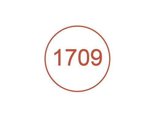 Número 1709