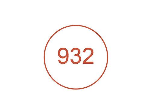 Número 932
