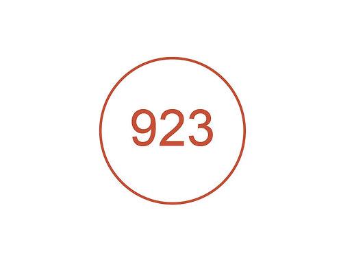 Número 923