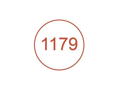 Número 1179