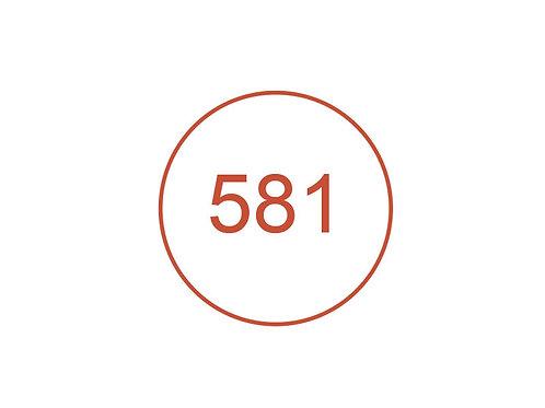 Número 581
