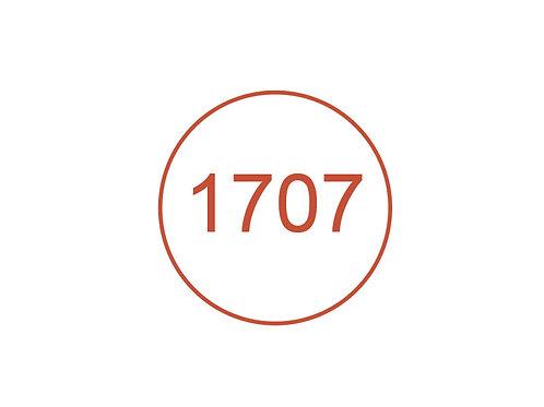 Número 1707