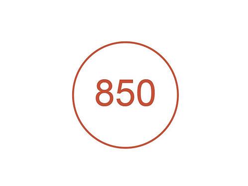 Número 850