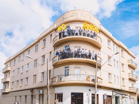 Hotel completa 80 anos tendo recebido 2 milhões de hóspedes