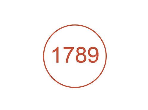 Número 1789