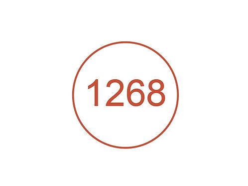 Número 1268