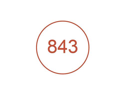 Número 843