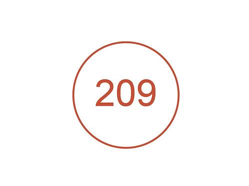 Número 209