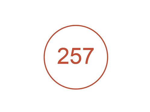 Número 257