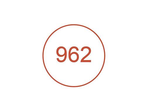 Número 962