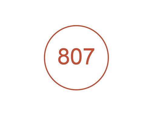 Número 807