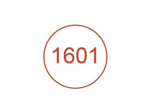 Número 1601