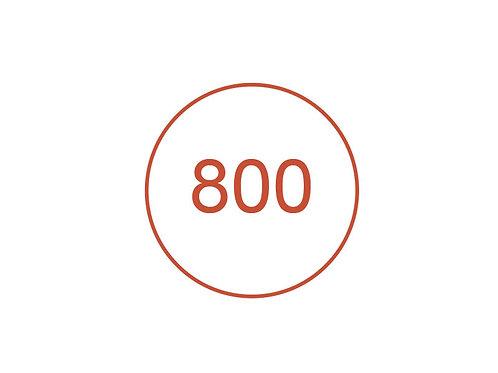 Número 800