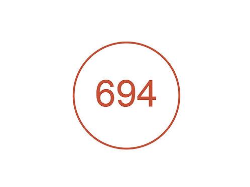 Número 694