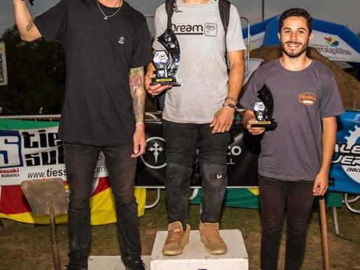 Esportista de Carambeí conquista mais um título em competição do BMX Freestyle