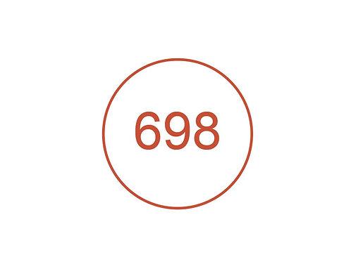 Número 698