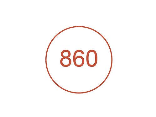 Número 860
