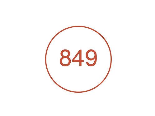 Número 849