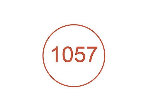 Número 1057