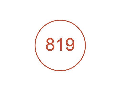 Número 819