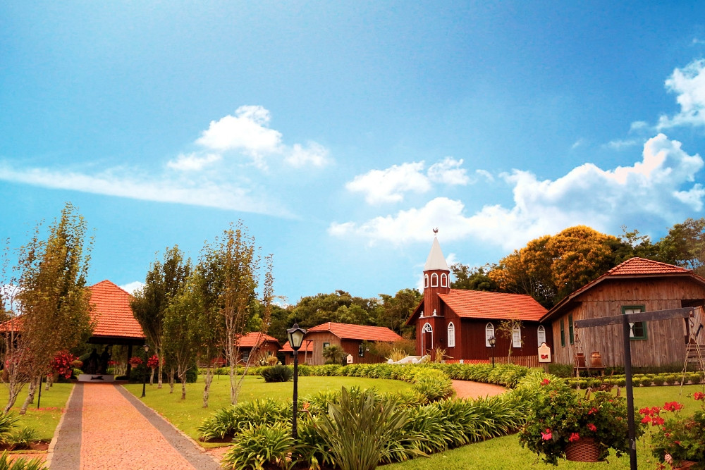 Foto do Parque Histórico de Carambeí