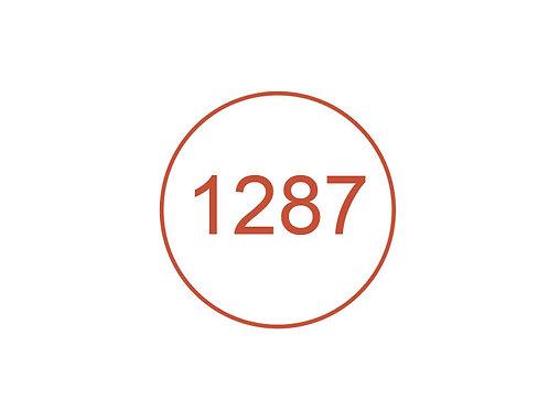 Número 1287