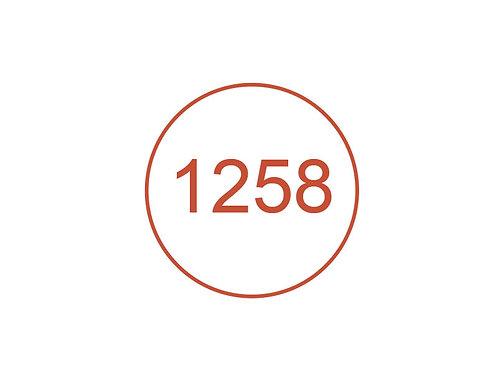 Número 1258