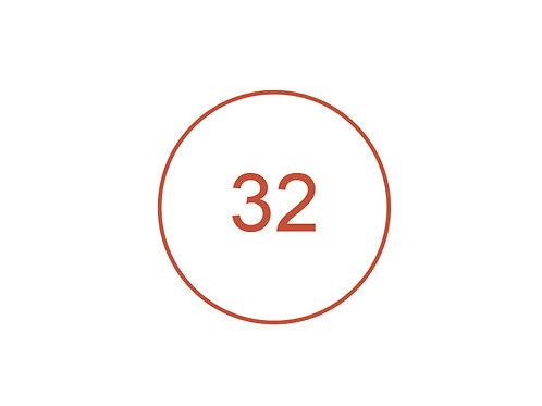 Número 32