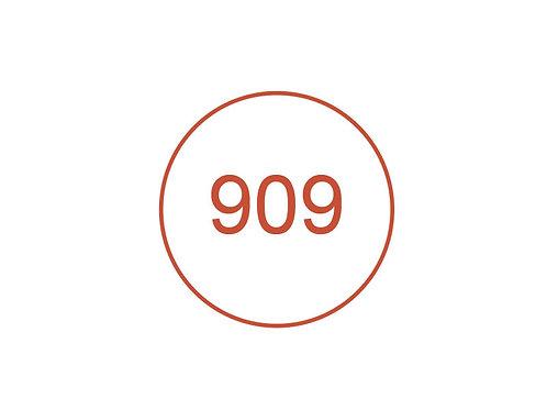 Número 909