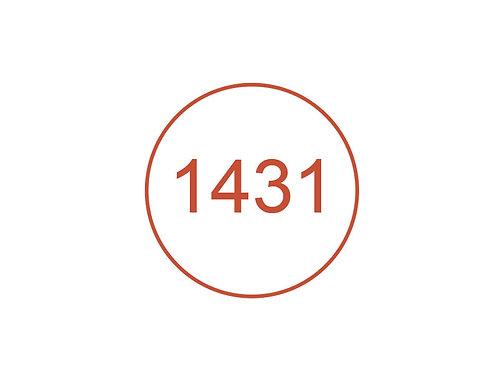 Número 1431