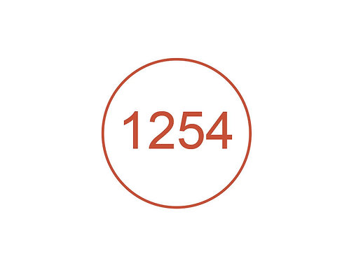 Número 1254