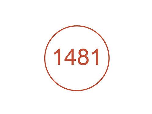 Número 1481