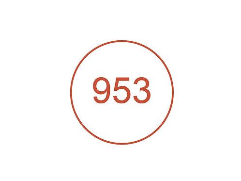 Número 953