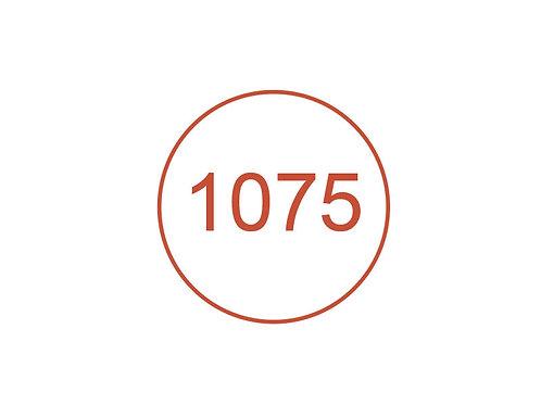 Número 1075