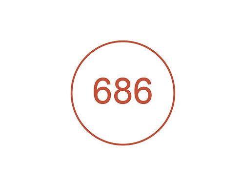 Número 686