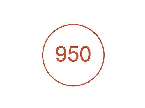 Número 950