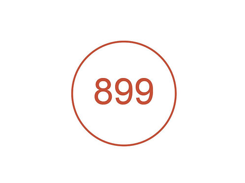 Número 899