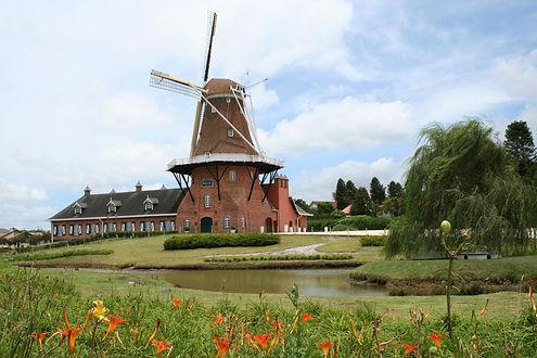 Memorial da imigração holandesa _ Foto_