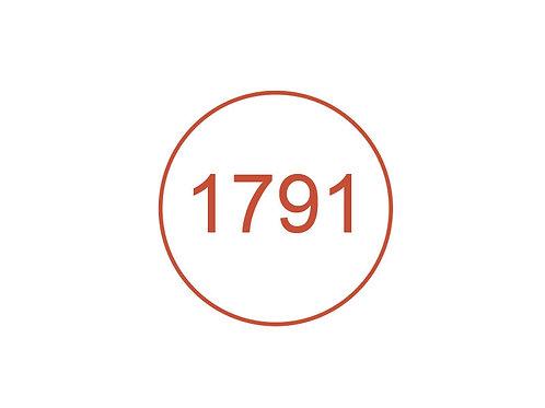 Número 1791